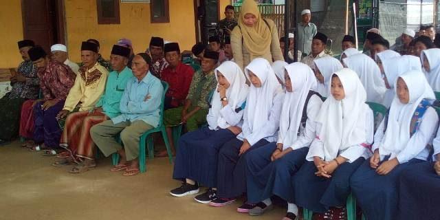 Pelajar di Lokasi TMMD Sampang, Dapat Penyuluhan Bahaya Narkoba