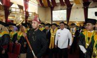 HD Hadiri Wisuda 502 Mahasiswa Unsri Angkatan ke 139