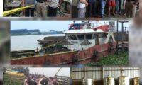 Kapal Tengker Milik PT KEP Diamankan Polisi