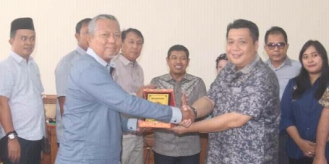 DPRD Metro Lampung Datangi DPRD OI