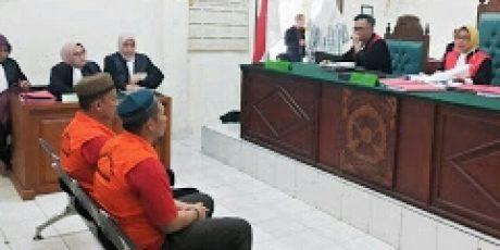 Jaringan Shabu Dituntut Hukuman Berbeda