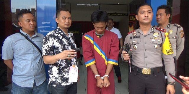 polisi gadungan yang berhasil diamankan