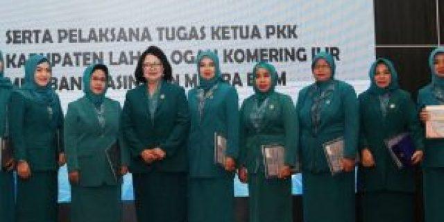 Ketua Tim Penggerak PKK Sumsel Kukuhkan Bunda PAUD Kabupaten/Kota