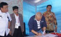 Gubernur Sumsel Hibahkan Lahan untuk Polsri