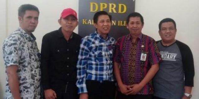 Humas DPRD Kaur Provinsi Bangka Datangi Ogan Ilir