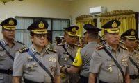 Kapolda Pimpin Sertijab 4 Jabatan Strategis