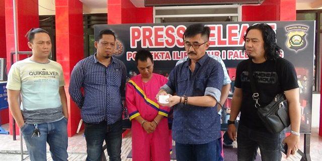 Ibrahim Pengedar Sabu Ditangkap Polisi