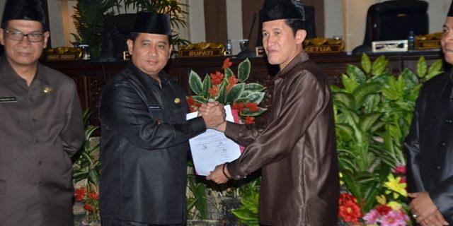 Raperda APBD Kabupaten Banyuasin 2019 Sebesar Rp 2,2 M