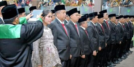 45 Anggota DPRD Muba Dilantik