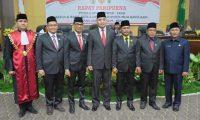 Unsur Plmpinan DPRD Muba Resmi Dilantik