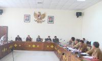 DPRD OGAN ILIR BERSAMA OPD BAHAS LKPJ BUPATI TAHUN 2018
