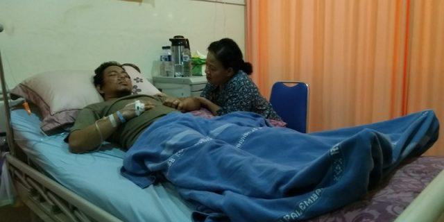 Korban Yang  Dianiayah Oknum Propam Kini Dalam Perawatan Medis