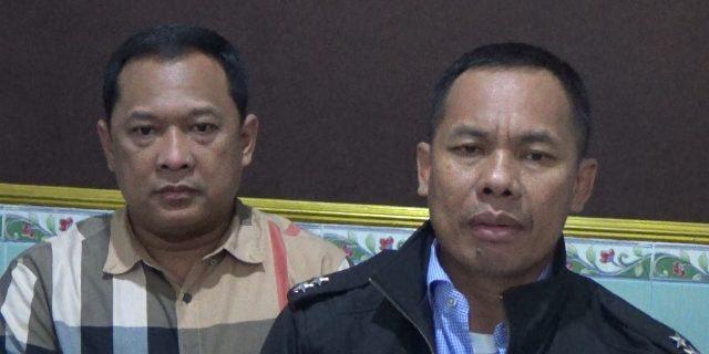 Kapolda Sumatera Selatan Irjen Pol Zulkarnain Didampingi Dirreskrimum Polda Sumsel Kombes Pol Budi Suryanto