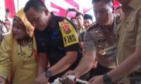 Kapolda Sumsel Resmikan SPKT Polsek IT 1 Palembang