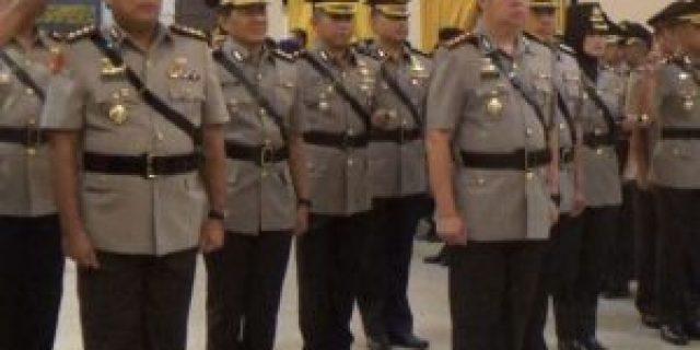 Kapolda Pimpin Sertijab Pejabat Utama dan Kapolres