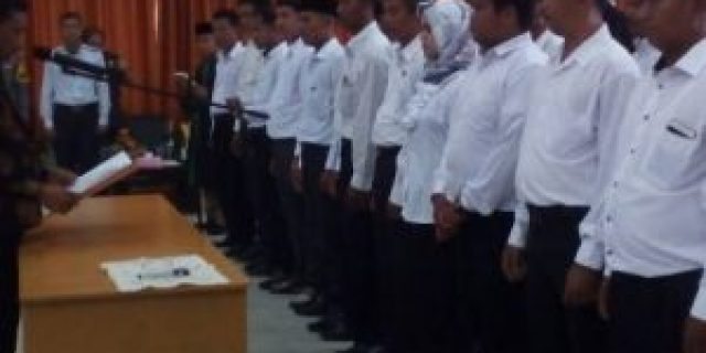 57 PPK Kabupaten Banyuasin Resmi Dilantik