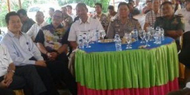 Meriah, Kenal Pamit Kapolsek dan Ketua Ranting Betung