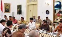 Gubernur Hadiri Ratas Asian Games di Istana Kepresidenan Bogor