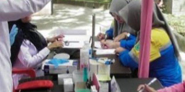 Polres Muba Adakan Berobat dan Donor gratis