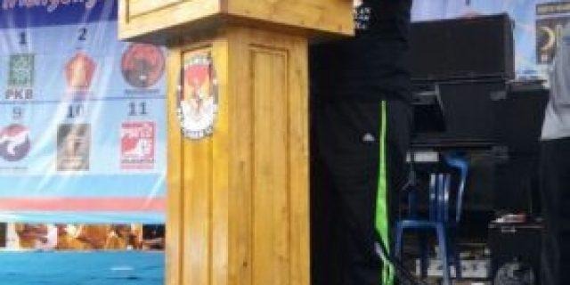 KPU OKI Adakan Gerak Jalan Jelang Pilkada