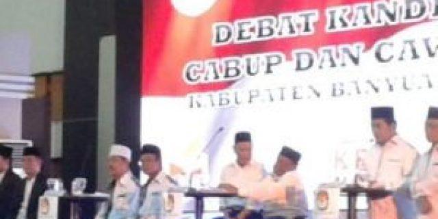 KPU Gelar Debat Publik Paslon Bupati Sesi Kedua