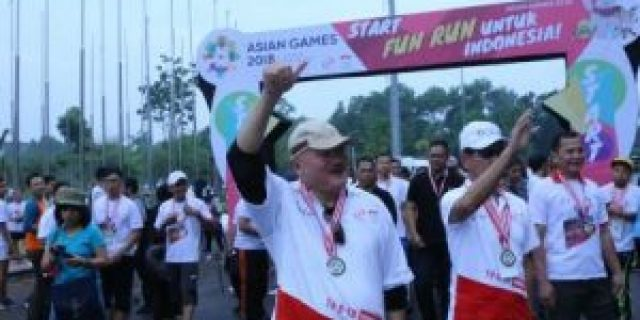 Gubernur Lepas 3.000 Peserta Fun Run Asian Games