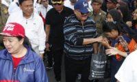 Meriahkan Asian Games, Warga Padati Kantor Gubernur Sumsel