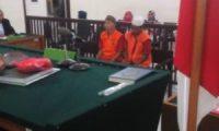Bawa Sabu, Dua Sekawan Divonis 4,5 Tahun