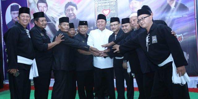 Gubernur HD Gandeng PSHT Jaga Keamanan Sumsel