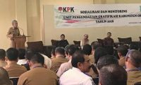 KPK Adakan Sosialisasi dan Monitoring di OKI