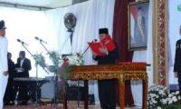 H Iskandar Resmi Jabat Bupati OKI