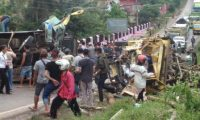 Kecalakan lalu lintas akibatkan 3 tewas 10 luka ringan