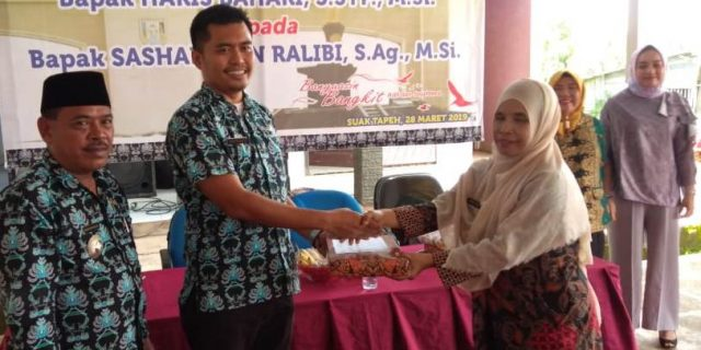 Kecamatan Suak Tapeh Adakan Pisah Sambut Camat