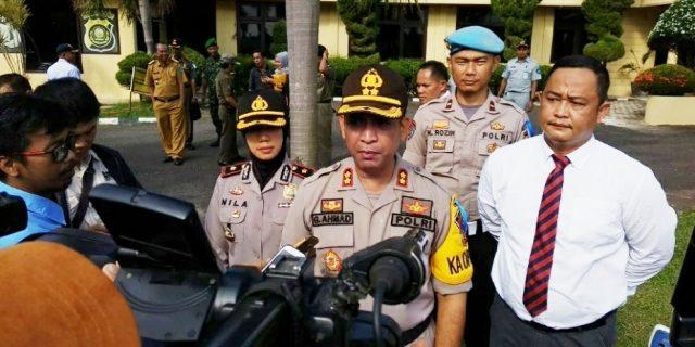 Polres OI Gelar Apel Pasukan Operasi Ketupat 2019