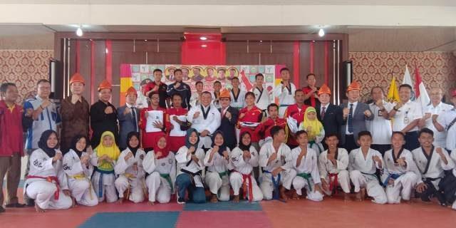 Kunjungan Korea Disabilitas Taekwondo Association di OI