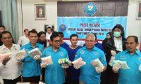 BNNP Sumsel Berhasil Ungkap Jaringan Narkotika Internasional