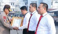 Ditresnarkoba Dapat Penghargaan Dari Bareskrim Polri
