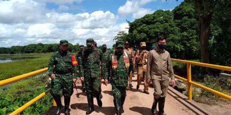 Brigjend Achmad Said Tinjau Kesiapan TMMD Ke-108