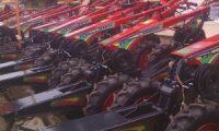 Dinas pertanian Kab OKI berikan 50 alat pertanian