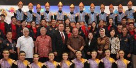 Gubernur Lantik Pengurus LPTG Sumsel Periode 2017-2022