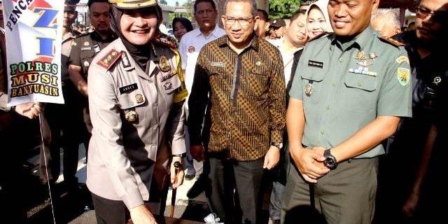 Polres Komitmen Pencegahan Korupsi dan Dukung Zona Intgritas Bebas korupsi