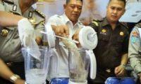 Ditresnarkoba Polda Sumsel Musnahkan Barang Bukti Narkoba