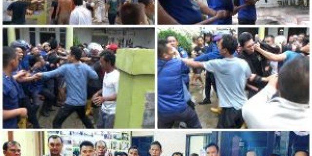 Rumah Purnawirawan Terbakar, Dilanjutkan Dengan Adu Jotos