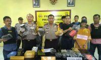Paket Ganja Asal Aceh Diamankan Polsek Sukarami