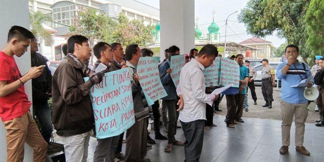 GPPMPS Pertanyakan Kasus Pidana Pemilu Pelipatan Surat Suara