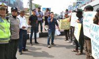 Dugaan Penyelewengan Dana Desa Didemo Massa