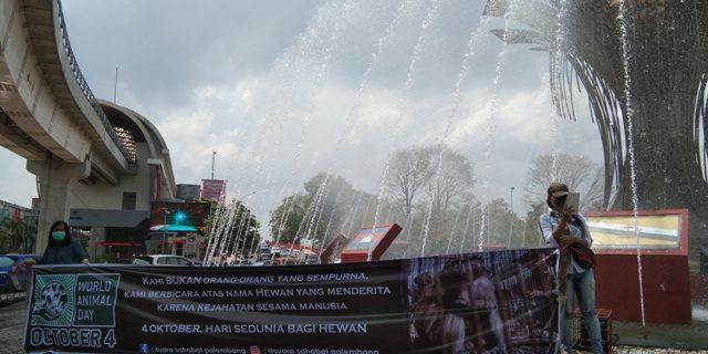 Pencinta Hewan Gelar Kampanye Di BAM