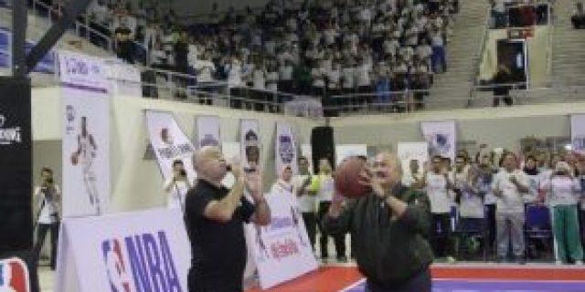 Ribuan Guru Olahraga Basket Se Sumsel Ikuti Pelatihan dari JrNBA