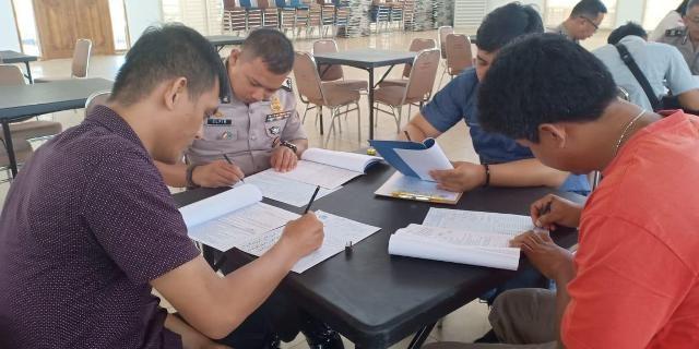 Personil Polres Banyuasin Ikut Giat Pemeriksaan Psikologi