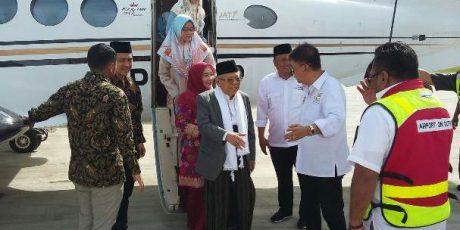 Ma'ruf Shalat Jumat di Masjid, Wartawan dan Warga Dilarang Ambil Foto